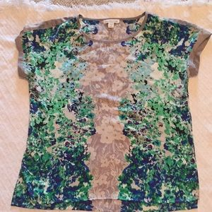 Coldwater Creek Short Sleeve Blouse. Size Small/8.